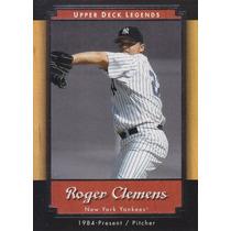 2001 Upper Deck Legends Roger Clemens P Yankees