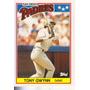 1988 Topps Mini Tony Gwynn Of Padres
