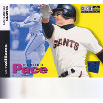 1994 Choice Special Edition Record Pace Matt Williams Giants