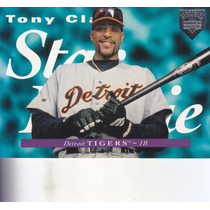 1995 Upper Deck Electric Diamond Star Rookie Tony Clark Det