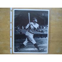 Babe Ruth Foto C/firma Preimpresa