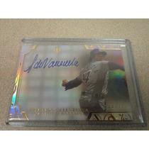 Fernando Toro Valenzuela Tarjeta Autografo Original Dodgers