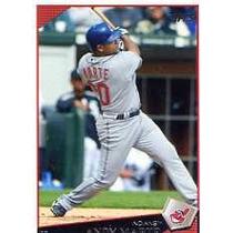 2009 Topps #3 Andy Marte Indios De Cleveland