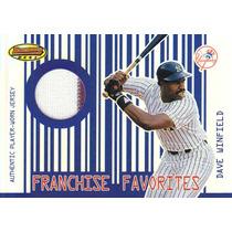 2001 Bb Franchise Fav Pinstripe Jersey Dave Winfield Yankees