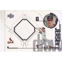 1999 Upper Deck Game Jersey J.d. Drew Cardinals