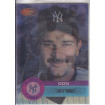 1994 Sportflics Movers Don Mattingly Yankees