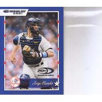 2001 Donruss Jorge Posada C Yankees