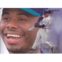 1997 Fleer Team Leader Ken Griffey Jr Mariners