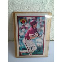 Mike Schmidt Tarjeta De Beisbol Bowman De 1989 Colecionable