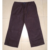 Banana Republic Capri Color Cafe Talla 32 100% Seda