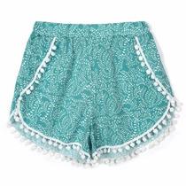Short Bermuda Dama Falda Primavera Verano 2016 Playa Moda