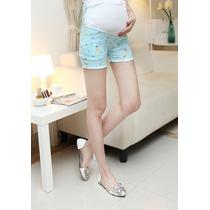 Shorts Maternidad Embarazada Moda Japonesa