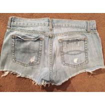 Shorts De Jean Vintage Abercrombie And Fitch Talla 6