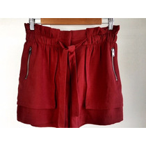 Short Para Dama Zara, Color Marron