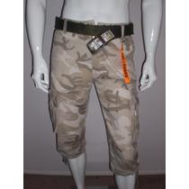 Bermudas Camouflage The Guard Desert Storm Militar Talla 30
