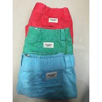 Shorts Abercrombie & Fitch 100% Originales / Inc 3 Pzs