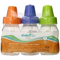 Evenflo 3 Pack Classic Botella Clara Y Sin Bpa 4 Onza