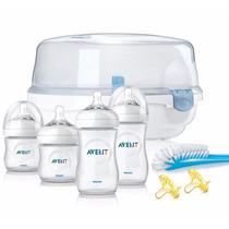 Philips Avent Natural Kit De Biberones Con Esterilizador