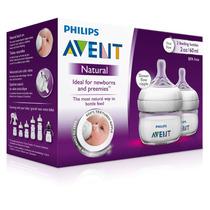 Philips Avent Scf699/25 Set 2 Biberones 2oz Bebe Prematuro