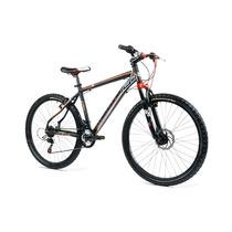 Bicicleta Montaña Mercurio Aluminio R26 21v Freno De Disco