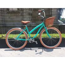 Bicicleta Retro O Vintage Smart R26 Verde Menta - Miel