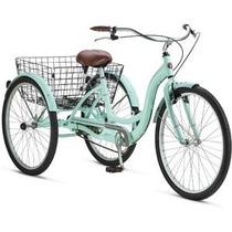 Bicicleta Triciclo Para Adulto Schwinn Rodada 26 Con Canasta