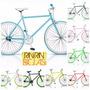 Bicicleta Fixie Over Rin Rin Biclas