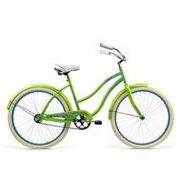 Bicicleta R.26 Mercurio Crusier Comfort Dama Verde-015609