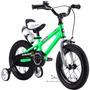 Bicicleta Para Niño Verde Royalbaby Free Style 45.7 Cm