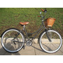 Bicicleta Retro O Vintage R24 Negro Mate