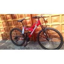 Bicicleta De Montaña Mercurio Ztx R26 Doble Suspensión 18v
