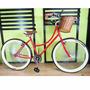 Bicicleta Retro Vintage 144 Rayos Rodada 26 Roja
