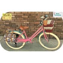 Bicicleta Vintage Bowie Princess Chelsea Rin Rin Biclas