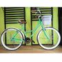Bicicleta Retro Vintage 36rayos Rodada 26 Verde Agua