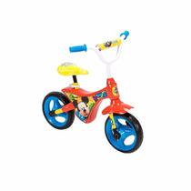 Bicicleta De Balance Entrenadora Huffy Mickey Mouse