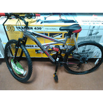 Remato Bici Huffy 26 , Componentes Shimano, Doble Suspension