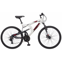 Bicicleta De Montaña Mongoose Para Caballero Gris Rodada 26