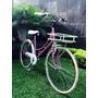 Bicicletas Retro Vintage Con Parrilla De Madera