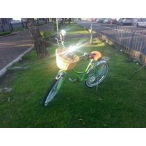 Bicicleta Retro Damaycaballero Verde Manzana Varios Colores