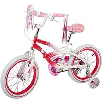Bicicleta Rosa De Hello Kitty Chica / Blanco 16 Pulgadas