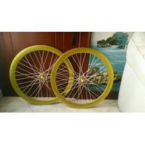 Rines Bicicleta Fixie R700 Flip Flop (piñón Fijo) 50mm