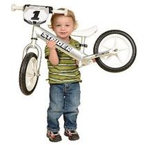 Strider 12 Pro No-pedal Plata Equilibrio Bike
