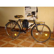 Bicicleta Antigua Alforjas
