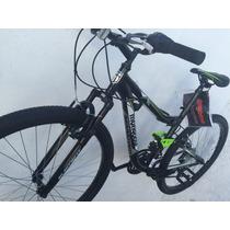 Bicicleta Montaña Mongoose Black Rin 27.5 Fullsuspension2017