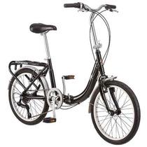 Bicicleta Plegable Schwinn 20 Pulgadas Negro