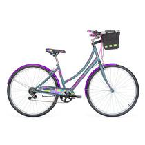 Bicicleta R.700 Mercurio Amsterdam 6v Gris-016939