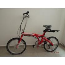 Bicicleta Eléctrica Plegable-haz Ejercicio, Ahorra, Pasea..