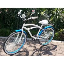 Bicicleta Retro Dama Y Caballero Varios Colores