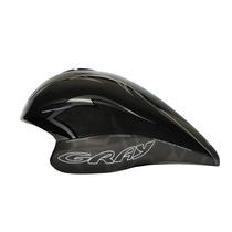 Tb Casco Gray Triathlon/time Trial Helmet - Black