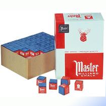 Tizas (cósmeticos) Para Billar Marca Master - (marben)
